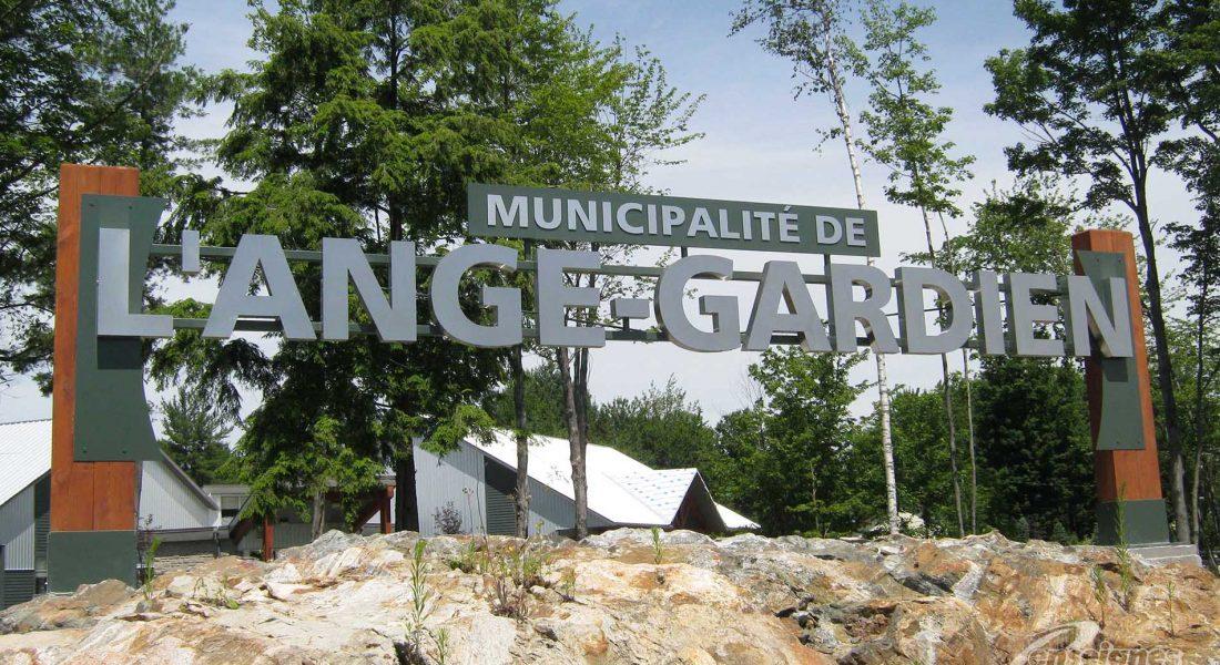 Enseigne lettres 3D L'ANGE-GARDIEN